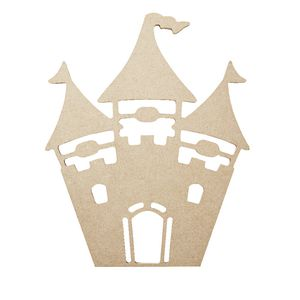 ELC MDF Shape Princess Castle