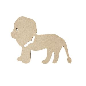 ELC MDF Shape Lion