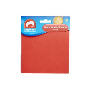 ELC Kinder Squares 250 x 250mm Matt Finish 100 Pack