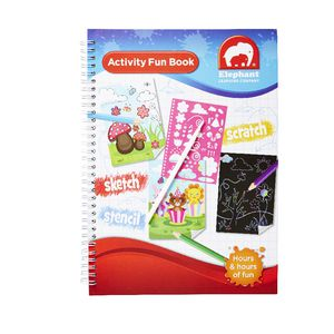 ELC A4 Activity Book 3 in 1