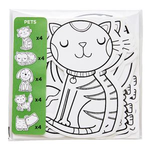ELC Colour Me Shapes Pets 20 Pack