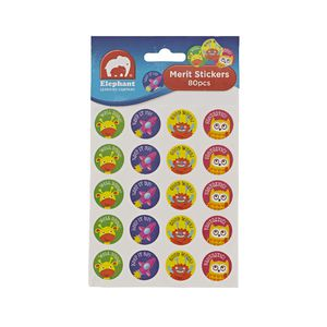ELC Merit Stickers 80 Pack