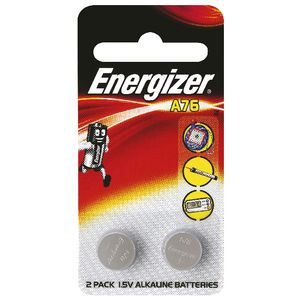 Energizer A76 Coin Batteries 2 Pack