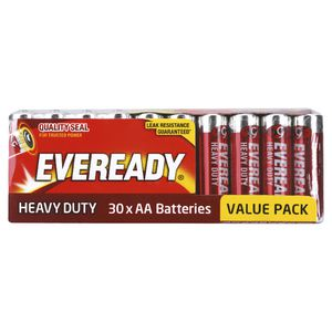 Eveready Heavy Duty AA Batteries Pk/180