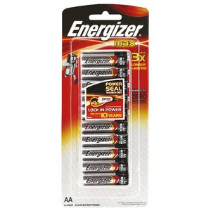 Energizer Max AA Batteries 10 Pack