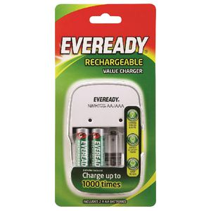 Eveready Value Battery Charger 2 AA