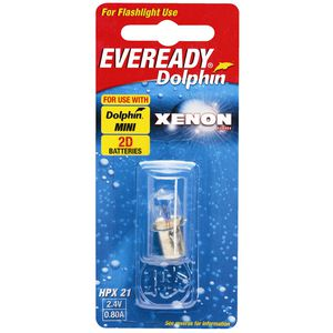 Eveready Dolphin Xenon Bulb 2.4V