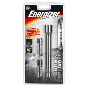 Energizer Metal LED Torch 2AA