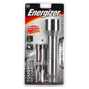 Energizer Metal LED Torch 2D