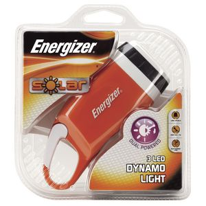 Energizer Solar 3 LED Flashlight