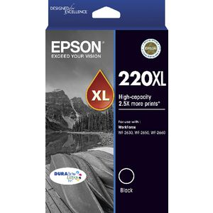 Epson 220XL Ink Black