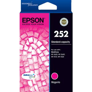 Epson 252 Ink Cartridge Magenta