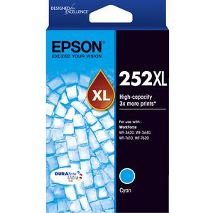 Epson 252XL Ink Cartridge Cyan