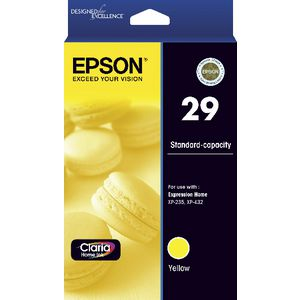 Epson 29 Ink Cartridge Yellow