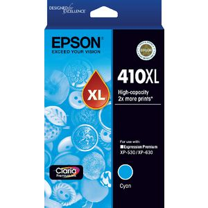 Epson 410XL Ink Cartridge Cyan
