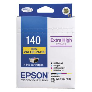 Epson 140 High Capacity Ink Cartridge Value Pack