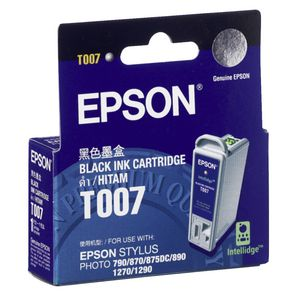 Epson T007 Ink Cartridge Black