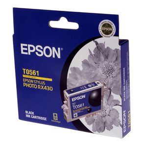 Epson Ink Cartridge Black T0561