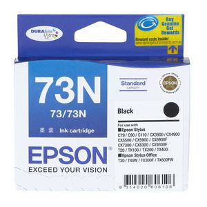 Epson 73 Ink Cartridge Black