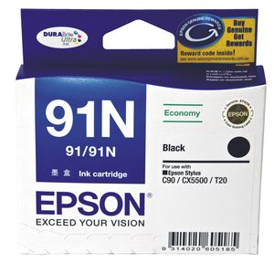 Epson 91 Ink Cartridge Black