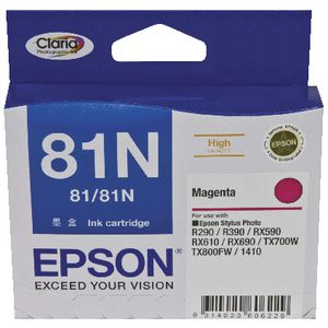 Epson 81N High Capacity Ink Cartridge Magenta