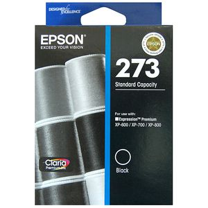 Epson 273 Standard Ink Cartridge Black