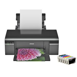 Epson Stylus Photo T50 A4 Colour Inkjet Printer