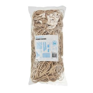 J.Burrows Size 35 Rubber Bands 500g