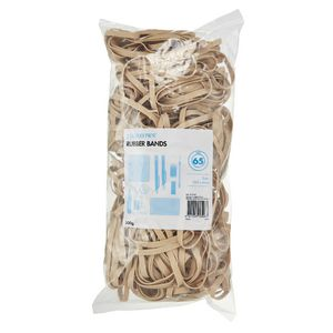 J.Burrows Size 65 Rubber Bands 500g
