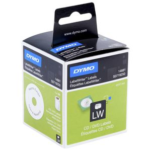 DYMO LabelWriter CD and DVD Labels 57mm 160 Pack