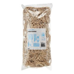 J.Burrows Size 14 Rubber Bands 500g