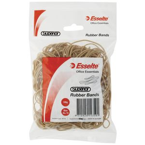 Esselte Size 19 Superior Rubber Bands 100g