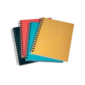 Spirax No.511 A5 Hard Covered Notebook 200 Page Blue
