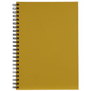 Spirax A4 Hard Cover Notebook Yellow
