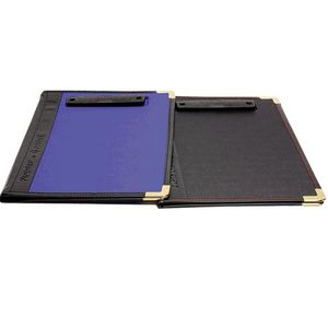 Esselte Supertuff Foolscap Clipfolder Black
