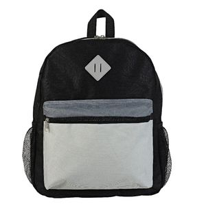 Essential Backpack Black Grey