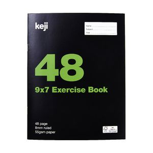 Value 9x7 Exercise Book 48 Page