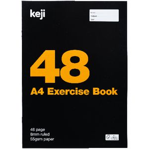 Keji A4 Exercise Book 48 Pages
