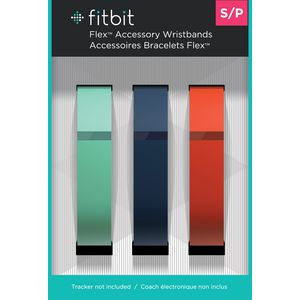 Fitbit Flex Accessory Bands Small 3 Pack