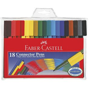 Faber-Castell Connector Pens 18 Pack