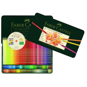 Faber-Castell Polychromos Pencils, Tin Of 120