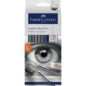 Faber-Castell Graphite Sketch Set