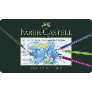 Faber-Castell Albrecht Durer Watercolour Pencils Tin 60 Pack