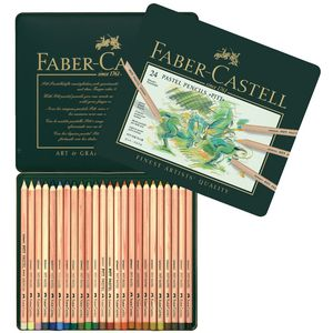 Faber-Castell Pitt Pastel Pencils Tin 24 Pack