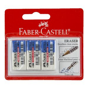 Faber-Castell Ink and Pencil Eraser 3 Pack