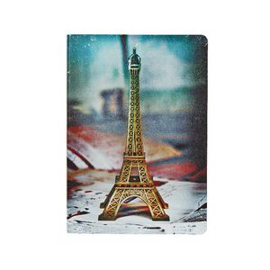Soft PU Printed A5 Journal 240 Page Eiffel Tower