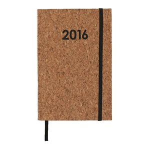 J.Burrows A5 Week to View 2016 Cork Diary