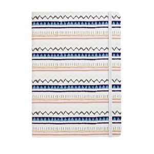 Otto B5 Journal Hard Cover PU with Elastic Zig Zag 192 Page