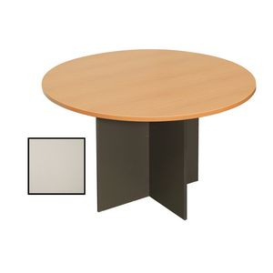 Rapidline Round Table 900mm Grey and Ironstone