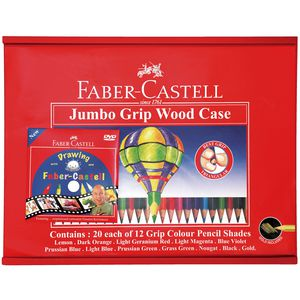 Faber-Castell Junior Triangular Colour Pencils 240 Pack